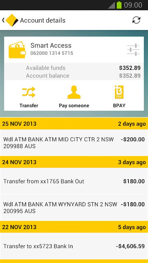Commonwealth Bank Gift Card Balance - commbank android apps on google play