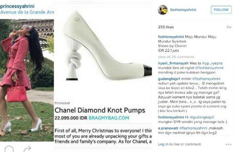 Sepatu Fashion Syahrini 1809 ini harga wah koleksi sepatu mahal syahrini money id