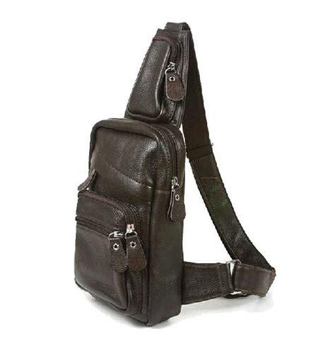 Sling Bag Leather Shoulder mens leather shoulder sling bag bags more