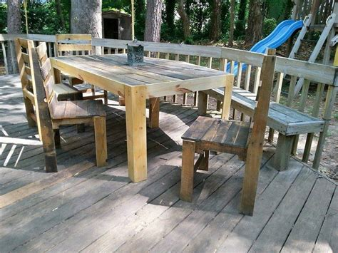 pallet furniture patio pallets patio deck and furniture pallet ideas recycled