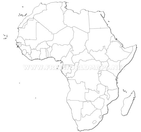 africa map hd image africa countries