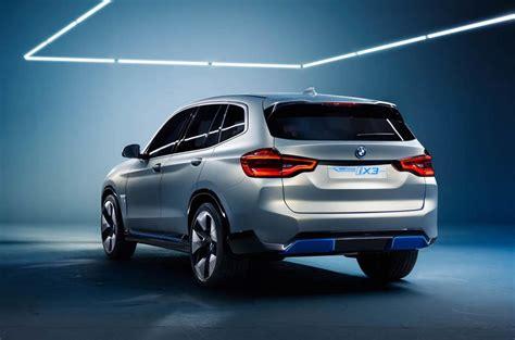 bmw ix electric crossover concept debuts  beijing