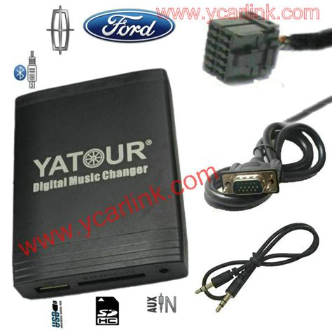 yatour ford digital mp3 usb sd aux bluetooth adapter cd interface 4050 rds 4500 4600cdr