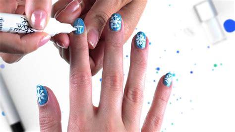 nail art tutorial disney channel frozen snowflake nail art tutorial official disney