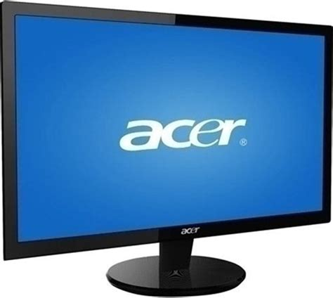 Monitor Acer 16 Inch Second acer p215hbbd 21 5 inch widescreen lcd monitor