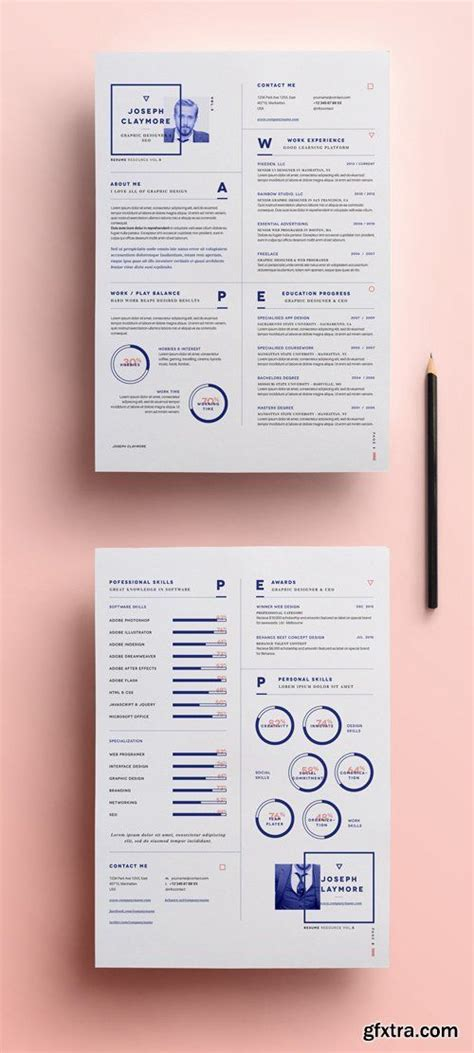 Graphic Resume Templates by 25 Best Ideas About Graphic Designer Resume On