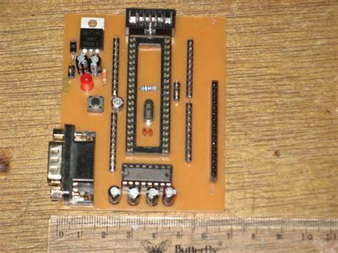 avr atmega32 wiring diagram components