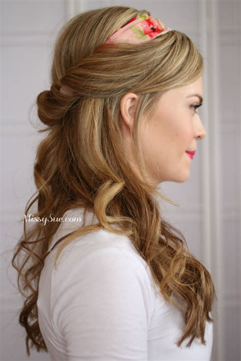 cute hairstyles to keep hair out of face diy tuck and cover half home and heart diy