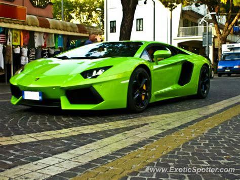 Lamborghini Aventador Italy Lamborghini Aventador Spotted In Jesolo Italy On 07