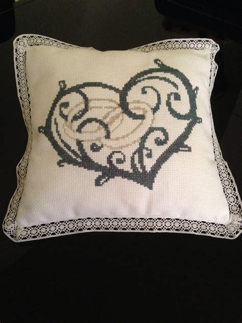cuscino portafedi a punto croce cuscino portafedi a punto croce feste matrimonio di