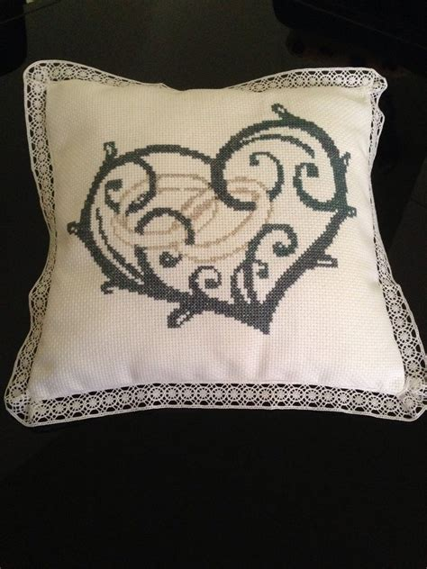cuscini portafedi a punto croce cuscino portafedi a punto croce feste matrimonio di