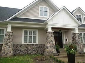 outside of a house outdoor fake stone siding for exterior home decor stone