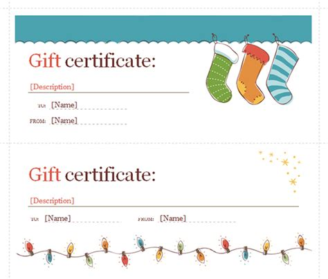 gift certificate template for word printable gift certificate templates sleprintable