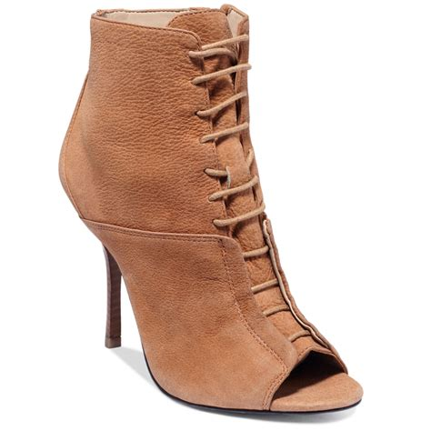 shooties boots roy palissa lace up shooties in brown lyst
