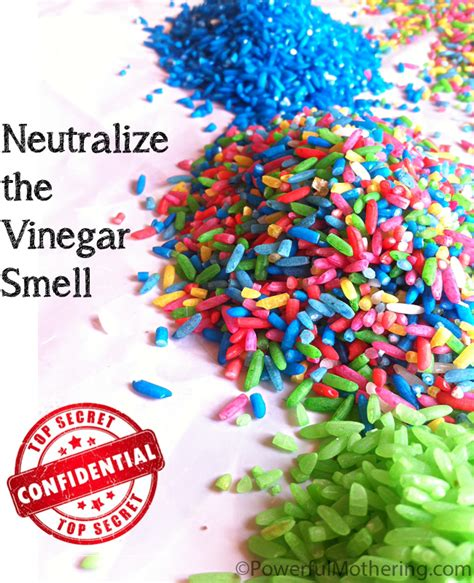 how to color pasta how to neutralize the vinegar smell when coloring rice or