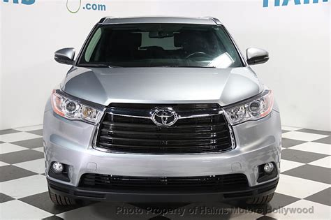 2014 used toyota highlander 2014 used toyota highlander fwd 4dr v6 xle at haims motors