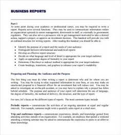 Report Template business report template writing word excel format