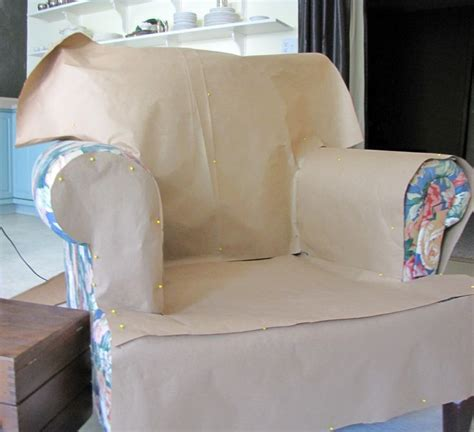 how to make a slipcover for an ottoman how to make a paper pattern for a slipcover this looks