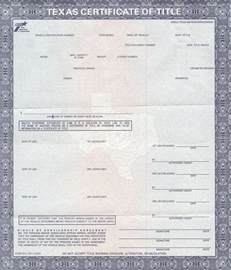 Vehicle Registration Tx Title Bond As Low As 100 00 Fort Worth Dallas
