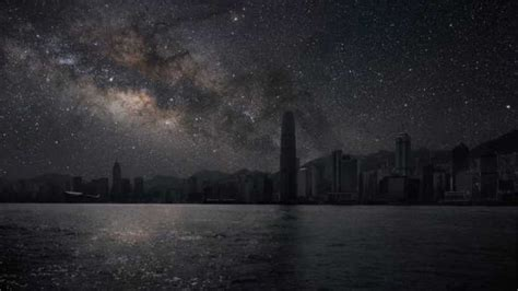 Sky Without Light Pollution by This Is What Our Cities Would Look Like Without Light