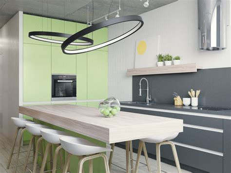 Green Apple Kitchen Decor by 33 Gorgeous Green Kitchens And Ways To Accessorize Them