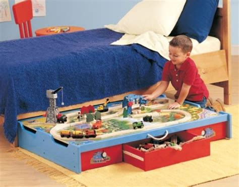 under bed train table smart under the bed trundle playtable home design