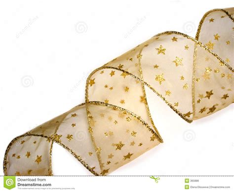 gold christmas ribbon royalty free stock image image 365886