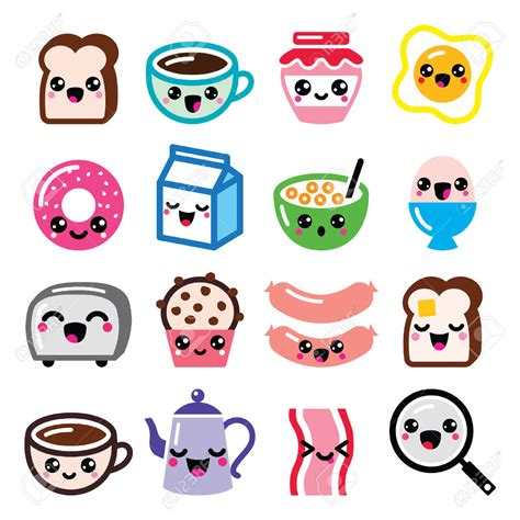 imagenes de tostadas kawaii afbeeldingsresultaat voor kopje tekenen cute schattige