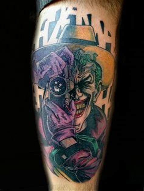 watercolor joker tattoo the joker watercolor tattoo on behance tattoo