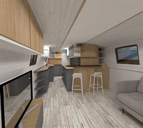 Small Galley Kitchen Design Ideas by Viking Canal Boats Ltd Quality Built Canal Boats 01245