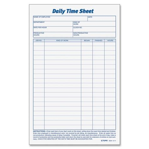 time recording template printer