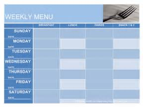 menu planning templates september 2012 conyers