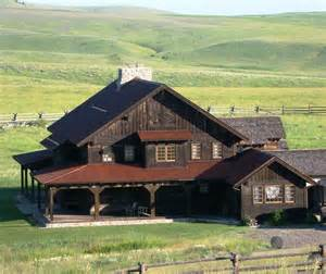 ted homes beautiful montana home on ted turner s flying d ranch