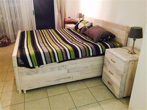 pallet bedroom furniture pallet nightstands side tables 101 pallets