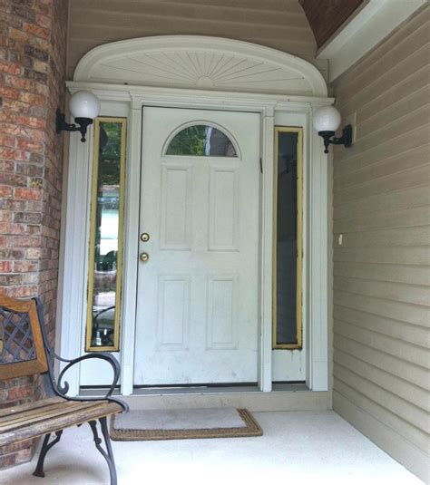 Exemplary Glass Door With Sidelights Replace Front Door Replacement Front Door Cost
