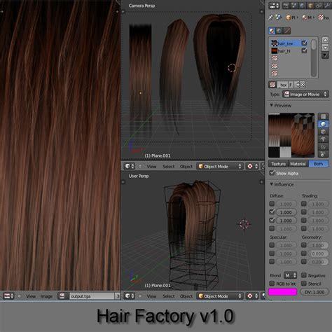 tutorial xnormal blender hair factory v1 0 blendernation