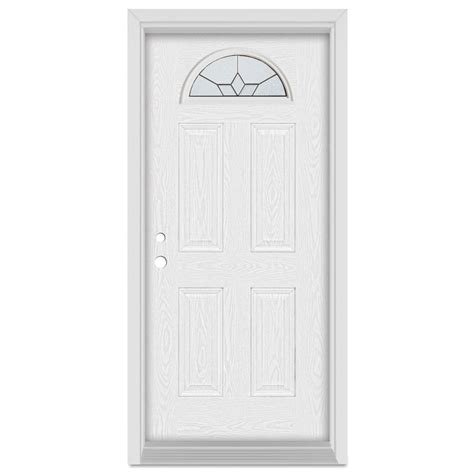 stanley front doors stanley doors 37 375 in x 83 in geometric right