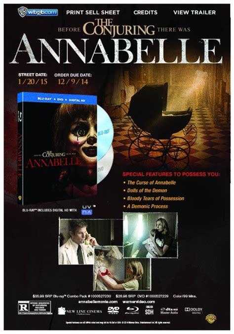 annabelle doll dvd news annabelle us dvd r1 bd ra dvdactive