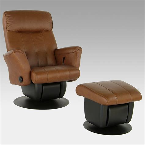 leather glider and ottoman dutailier avantglide 242 chicago leather glider and