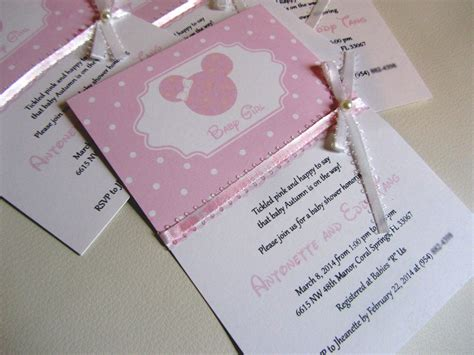 baby minnie mouse baby shower invitations gangcraft net
