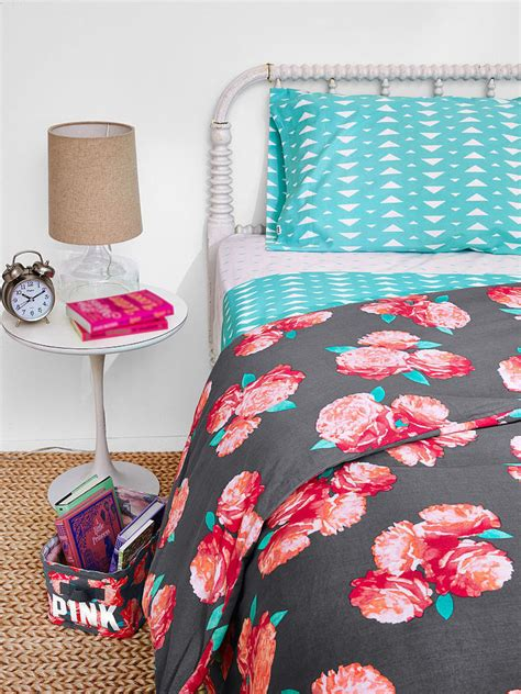 victoria secret bedding victoria s secret duvet cover bedding grey black floral