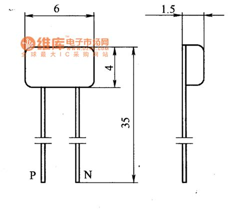 position sensitive diode 2acm type magnetic sensitive diode shape circuit other circuit electrical equipment circuit