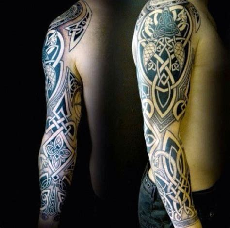 celtic warrior tattoos for men 40 celtic tattoos for cool knots and complex