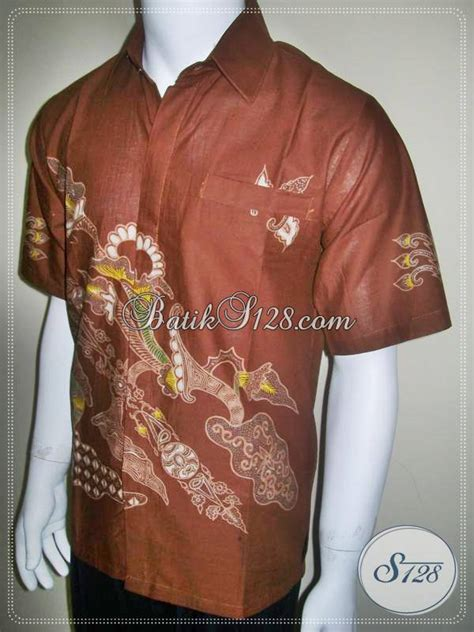 warna dasar untuk membuat warna coklat kemeja batik warna coklat busana batik corak modern