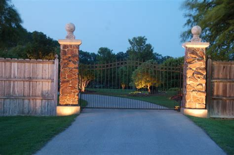 Nordic Kitchens by Lighting Gate Entrance To Private Estate Traditional
