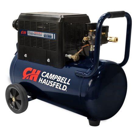 campbell hausfeld  gallon quiet hot dog air compressor