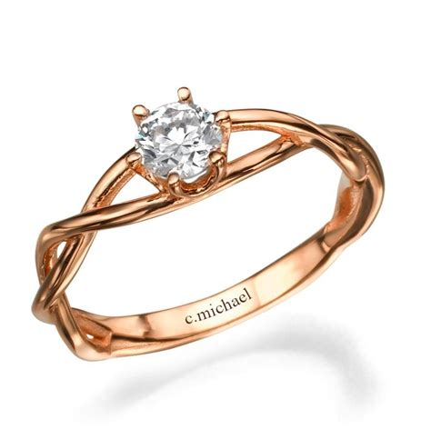 Wedding Rings Infinity Band by Infinity Ring Engagement Ring Wedding Ring Deco