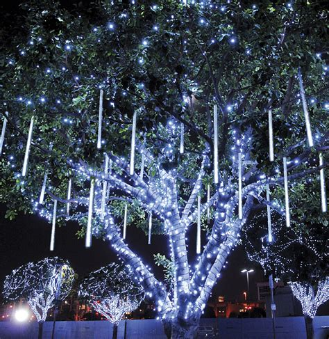 outdoor tree light shows dekra lite snowfall lighting dekra lite commercial lights and displays lit with c7