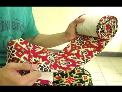 Kain Bengkung Kain Stagen tutorial cara wiru kain jarik how to fold