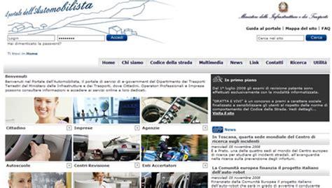 uffici periferici dipartimento per i trasporti terrestri portale dell automobilista pratiche auto news e